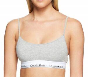 869a0217db Calvin Klein Women s Modern Cotton Skinny Strap Bralette - QF1730