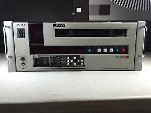Sony betacam sp uvw-1800/1400 uvw-1600/1200 videocassette service.