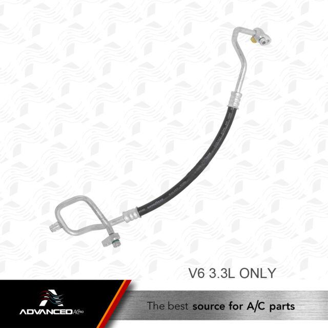 Fits 2000-2004 Nissan Xterra A//C Suction Line Hose Assembly UAC 89718VF 2003 200