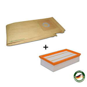 10 Staubbeutel 1 Filter passend für Flex S47