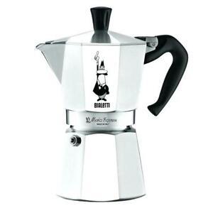 GENUINE BIALETTI 4 CUP MOKA EXPRESS Espresso Stovetop Coffee Maker Percolator