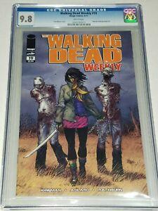 Walking-Dead-Weekly-19-CGC-9-8-NM-MT-Image-2011-Reprints-1st-Michonne