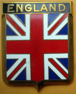 Badge Auto Car Drago 1950s Original England Angleterre Uk British Ebay