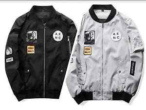 sleek fashion styles quality Mens Hip Hop Kanye yeezus bomber jacket Anarchy Air Tokyo | eBay