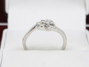 Diamond Cluster Ring White Gold Ladies Size N 375 9ct T100 - <span itemprop=availableAtOrFrom>Morpeth, Northumberland, United Kingdom</span> - Returns accepted Most purchases from business sellers are protected by the Consumer Contract Regulations 2013 which give you the right to cancel the purchase within 14 day - Morpeth, Northumberland, United Kingdom