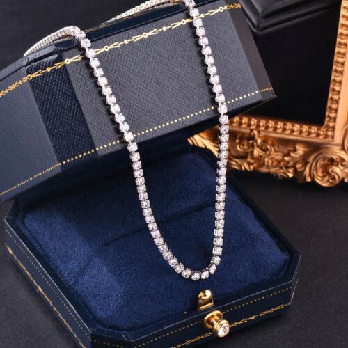 Colorful Full Carré Zircone Cubique tour de cou neckalce Or Jaune Fashion Jewelry