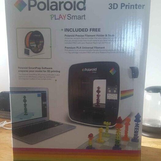 3D Printer, m. farve, UÅBNET Polaroid PlaySmart
