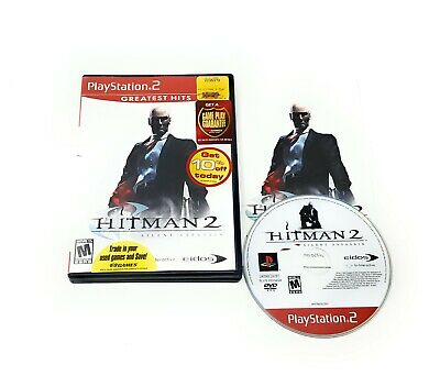 Hitman 2 Silent Assassin Greatest Hits Playstation 2 Ps2 Complete
