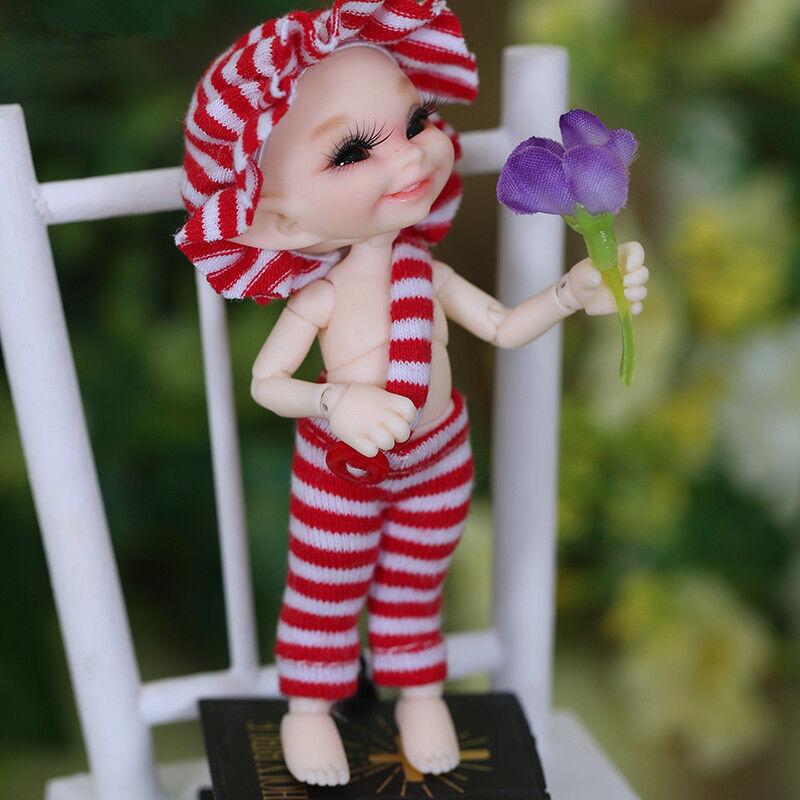 1 12 BJD Doll SD Doll FL realpuki Soso Wake UP Face -Free Face Make UP+Eyes