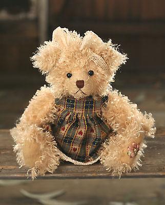 Teddy Bear /'Fiona/' Settler Bears Handmade Dress Collectable Gift 38cms NEW