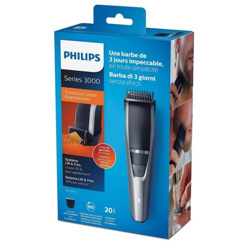 Regolabarba Philips BT3216//14 Series 3000 Rifinitore con Sistema Lift /& Trim