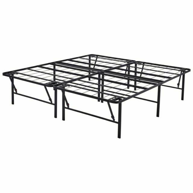 Mainstays 18 Inch High Profile Foldable, How Many Inches Is A Twin Size Bed Frame
