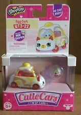 Shopkins Cutie Cars Egg Cart QT3-22 Diecast w// Mini Shopkin!