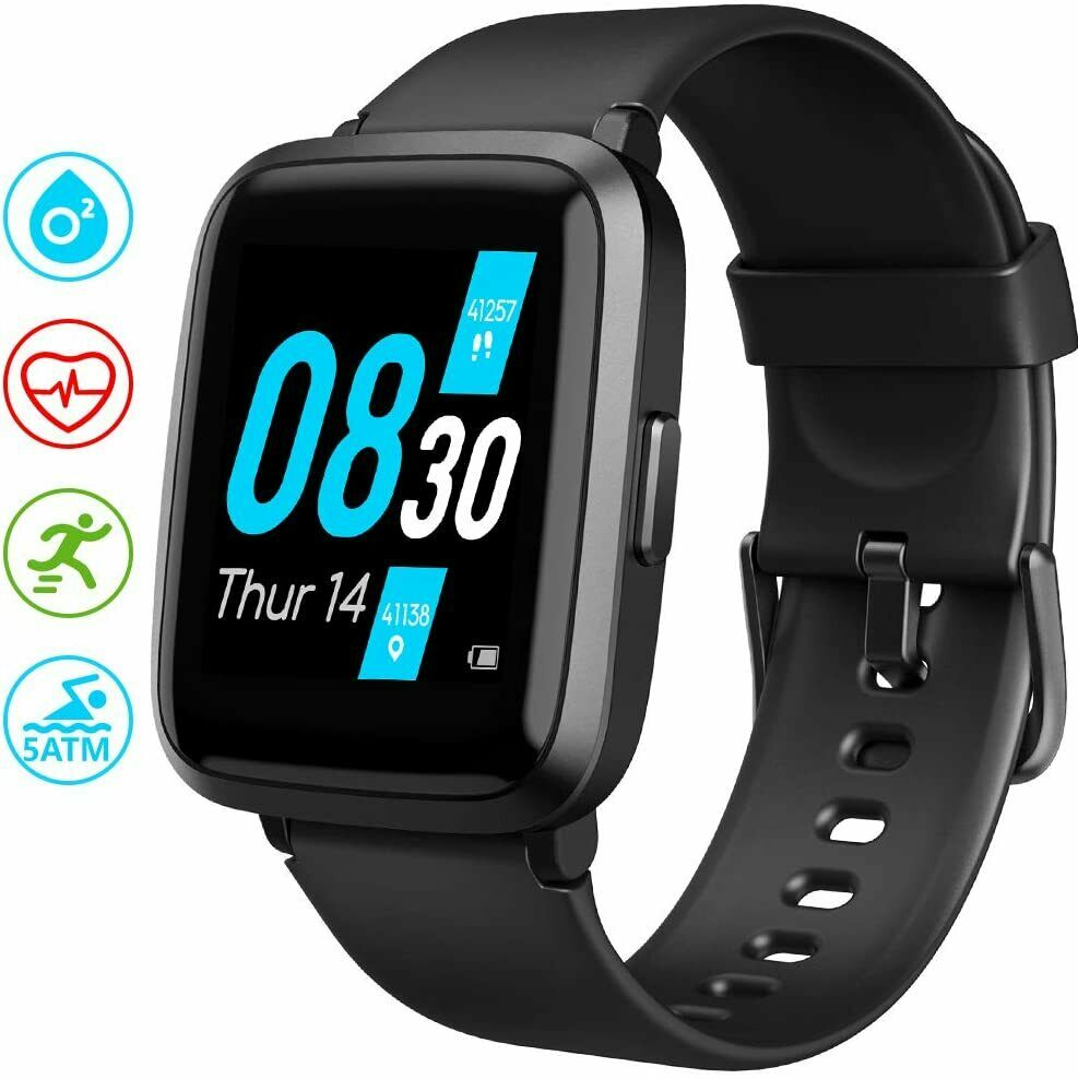 UMIDIGI Smart Watch UFit Health andFitness Tracker, with SpO2 and Heart Rate M and Featured health heart rate smart spo2 ufit umidigi watch with