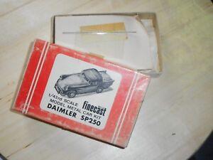 Wills Finecast Kit 1/43 Vintage Daimler Sp250
