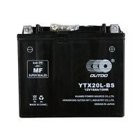 Ytx20l-bs Battery For Harley Davidson Dyna Softail Sportster V-rod Su02