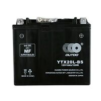 12v Ytx20l-bs Battery Fit Atv Motorcyle Personal Watercraft Snowmobile