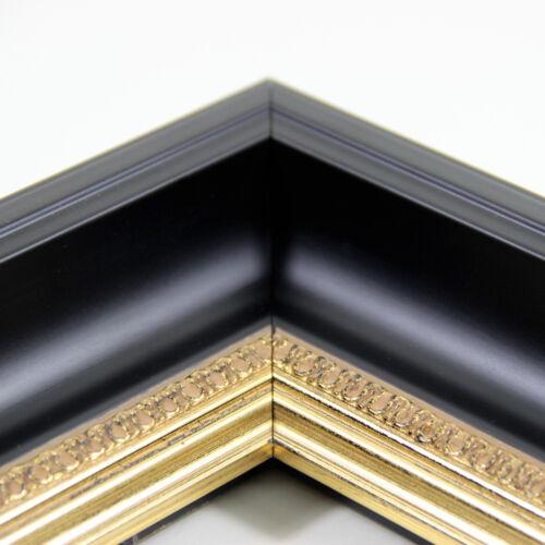 """40x60 cm mit Rückwand u Acrylglas Barock Bilderrahmen /""""Himera/""""  60x40"""