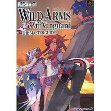 Wild Arms The 5th Vanguard The Master Guide Book(Dengeki PlayStation) / PS2