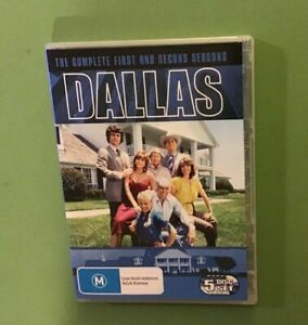 DALLAS-COMPLETE-FIRST-amp-SECOND-SEASON-DVD-BOX-SET-VGC