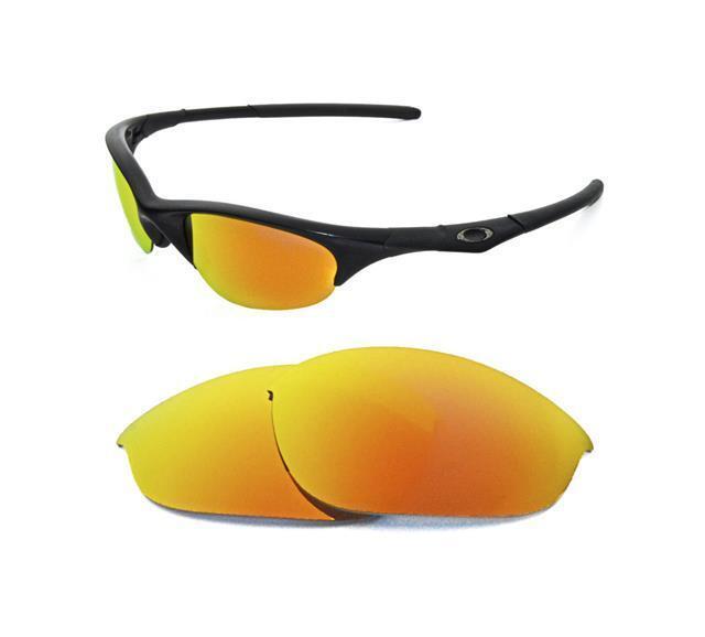 325fe3c75b Polarized Custom Fire Red Lens for Oakley Half Jacket Sunglasses for sale  online