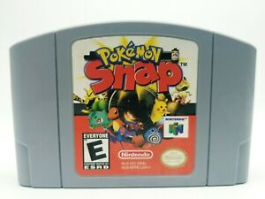 Pokemon-Snap-Nintendo-64-Game-Authentic-N64-Cartridge-Only-Tested-Working