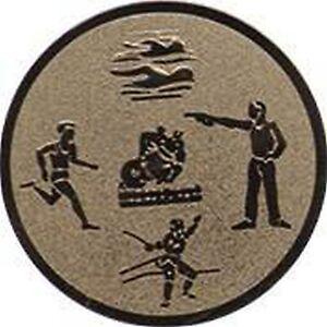 25 Embleme D:50mm Schützen Fünfkampf Zubehör für Medaillen Pokale Pokal (Emblem)