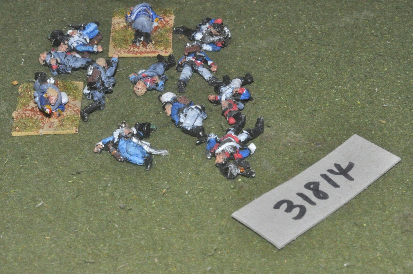 25mm napoleonic   french - 10 casualties - baggage (31814)