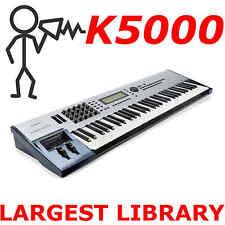 Kawai K5000 K5000s K5000w K5000r KA1 Largest Patch Sound Program Library