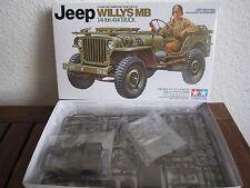 Willys Jeep MB US 1/4 ton 4x4 Truck von TAMIYA im Maßstab 1:35 *NEU*