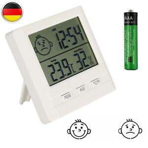 Digital Thermometer Hygrometer Feuchtigkeitsmesser Luftfeuchtigkeit für Babyraum