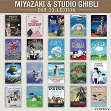 MIYAZAKI & STUDIO GHIBLI- La COLLEZIONE - I MIGLIORI 20 TITOLI - DVD Singoli