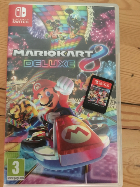 Mario kart 8 deluxe, Nintendo Switch, action