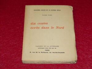 PIERRE-HAMP-10-CONTES-Ecrits-Nord-EO-1908-Cahiers-Quinzaine-Peguy-1-13-WHATMAN