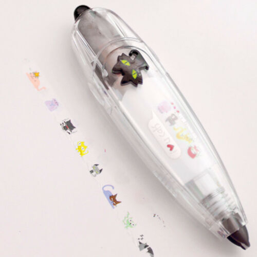 Animals Press Type Correction Tape DIY Dairy Scrapbooking Stickers New Cute