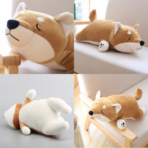 gefüllte Spielzeug Kissen Xmas Japanischer Anime Shiba Inu Dog Plüsch Puppe Soft