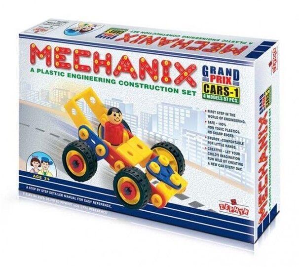 Zephyr Plastic Mechanix 7 Variants Games Toys