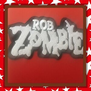 Rob-Zombie-Logo-Heavy-Metal-Embroidered-Patch-Sew-On-stick-On-new