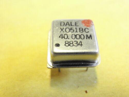 Quarzo OSCILLATORE 40mhz quadrato 12x12mm 20349-176