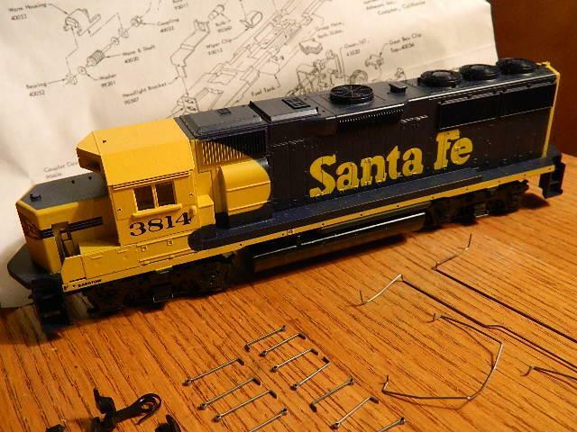 Vintage Athearn Authentic Authentic Authentic HO - ATSF Locomotive - Trains In Miniature NEW(other) 2bd4a9