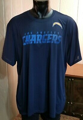 Men's Clothing Nike Dri Fit Nfl Los Angeles Chargers Blue Onfield Athletic Cut Shirt Top Sz 3xl