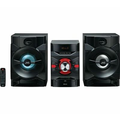 JVC MX-D328B Bluetooth Megasound Party Hi-Fi System - Black - Currys