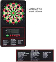 Winmau Touchpad 2 Electronic Darts Scorer - Battery Operated Scoring Machine Lcd