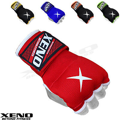 Xeno Inner Gloves MMA Boxing Hand Wrap Fist Gel Bandages Quick Strap Martial Art