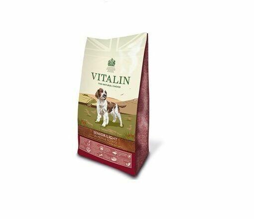 Vitalin Natural Senior Salmon Potato Dog Food 12kg For Sale Online Ebay