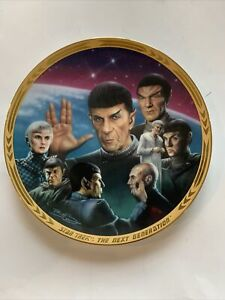 Star Trek The Next Generation Unification Episodes Plate Collection Mr. Spock