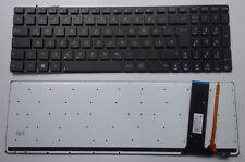 Tastatur Asus N56DP 76VM N76VZ N76VZ-V2G-T1067V Beleuchtet Backlight LED Licht