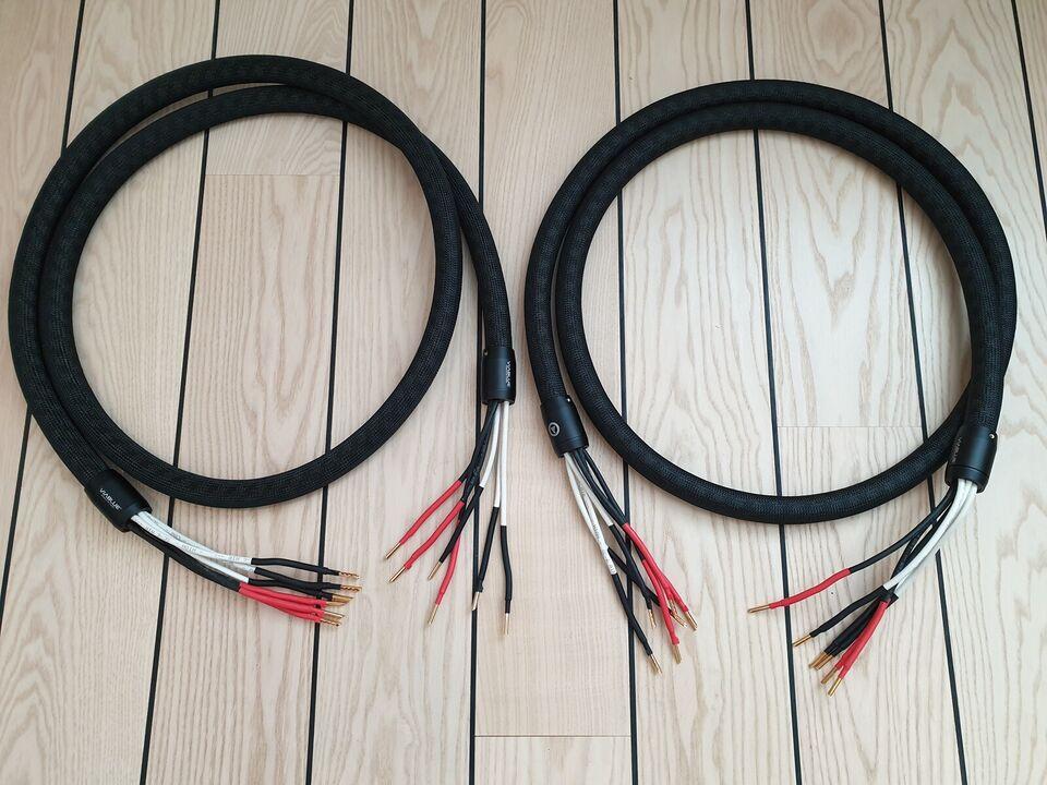 Højttalerkabel, Viablue SC-6 AIR Silver Tri-Wire T6s,