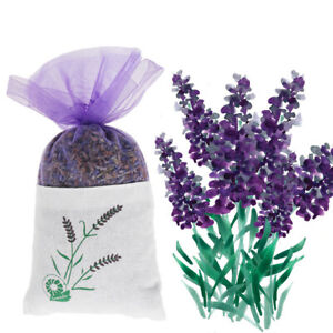 Fabric pouch filled with fresh dried lavender! LAVENDER BAGS