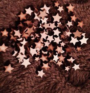 FidèLe Bois Découpé Au Laser 100pck En Bois Mdf Mixte Mini Stars. Plaque, Cadeau Décoration Blanks-afficher Le Titre D'origine
